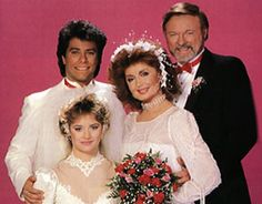 Double wedding: Mickey & Maggie and Pete & Melissa, Valentine's Day 1986