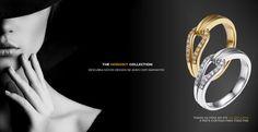 Destaque da semana: Descubra os apaixonantes anéis de diamantes da Verse, como os da coleção Horsebit. www.verse-joaillerie.com.br