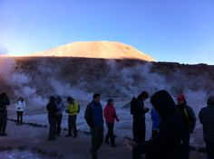 Géiser : Deserto Atacama