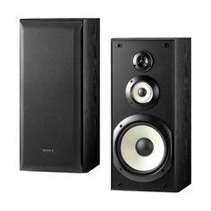 @sonyelectronics SS-B3000 3-Way Bookshelf Speaker Pair