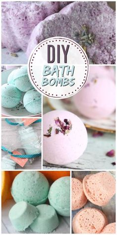 Learn how to make homemade DIY bath bombs just like the ones from Lush! They fizzle and smell awesome when you put them in water. These recipes are all super easy and perfect for beginners - even kids to make! #bathbomb #bathfizz #DIYbeauty #greenbeauty #sugarscrub #bodyscrub