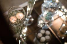confettata con specchi e gypsophila Kreativa Eventi