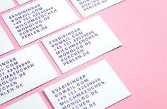 Eva Biringer - Businesscards on Behance
