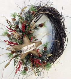 Christmas wreath #christmasdiy christmasdecor