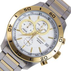 Buying The Right Type Of Mens Watches - Best Fashion Tips Mens Watches Online, Watches For Men, Seiko Watches, Stainless Steel Case, Chronograph, Omega Watch, Quartz, Stuff To Buy, Accessories