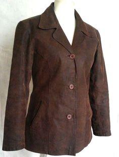 ROY RENE Woman's Insulated Warm Brown Genuine Leather Jacket Size XL #ROYRENE #BasicJacket #Jacket #Leather #eBay #Fashion #autumn