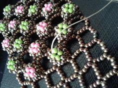 Half - Ootheca Cuff bracelet  | Craftsy ~ Seed Bead Tutorials