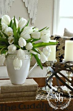 5 INEXPENSIVE WAYS TO REFRESH YOUR LIVING ROOM- Add something http://alive-stonegableblog.com