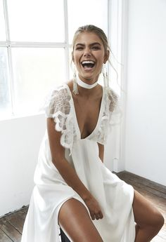 Check out Blanc, the cool, sexy, modern, and all-round gorgeous Grace Loves Lace wedding dress collection. Grace Loves Lace, Bridal Collection, Dress Collection, Looks Party, Boho Vintage, Vintage Grunge, Bridal Musings, Bridal Looks, Bridal Style