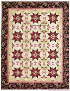 English Garden Quilt Pattern Pieced/Applique NM   eBay