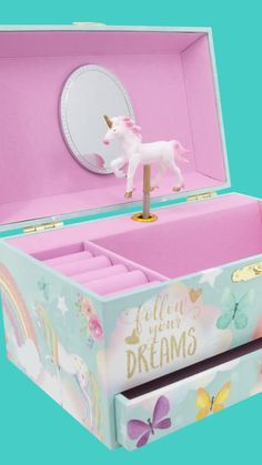 Unicorn Room Decor, Unicorn Rooms, Unicorn Bedroom, Unicorn Gifts, Cute Unicorn, Rainbow Unicorn, Makeup Kit For Kids, Kids Makeup, Toys For Girls