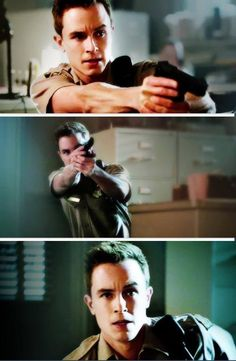 I knew there's something about him, something... supernatural   Deputy Parrish   Teen Wolf