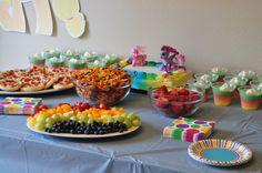 Rainbow Dash Party | Teddy Bears and Tutus