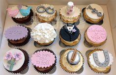 Wedding Themed Cupcakes