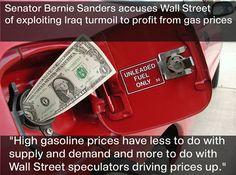 Bernie Sanders nails it again