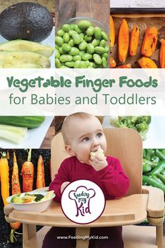 Vegetable Finger Foods for Babies Toddlers. Baby Lead Weaning and Finger Foods…