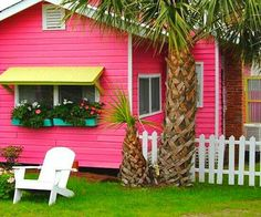 pink exterior