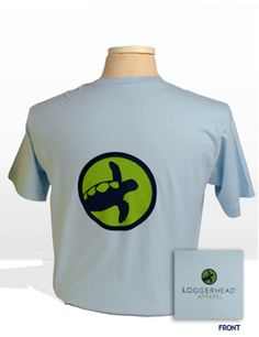 The Circle Logo Tee (Men's)        * Made in the U.S.A.      * Constructed of 100% combed cotton.      * Tagless for added comfort.      * 10% of all sales go directly to Loggerhead sea turtle conservation efforts. $30.00
