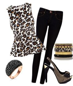 """""""Girl's Night Out"""" by briana810 on Polyvore"""