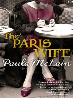 Fictional account of Hemingway's early life in Paris with his first wife Hadley Richardson, has made me want to reread all Hemingway's novels, love this period.