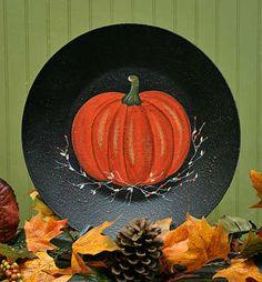 Pumpkin Plate $9.99