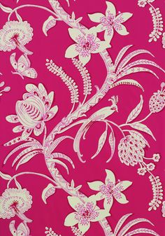 ECUADOR, Pink, T9251, Collection Avalon from Thibaut