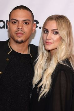 Ashlee Simpson and Evan Ross Stick Together on the Red Carpet