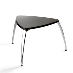 Opera low table by Infiniti in black or white colours at My Italian Living Ltd Low Tables, Stool, Chair, Italian Furniture, Contemporary Furniture, Opera, Furniture Design, Vanity, Table Lamp