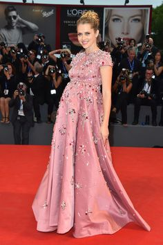 Teresa Palmer in Prada at the Venice Film Festival - The Absolute Best Red Carpet Looks of 2016  - Photos