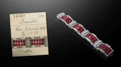 Van Cleef  & Arpels Bracelet given to Wallis Simpson by Edward VIII a few months before his abdication.