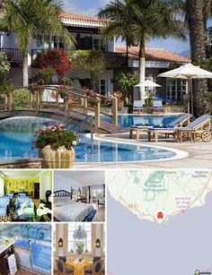 Cet hôtel de luxe est situé au cœur d'une très belle palmeraie, à seulement 300 m de la plage de sable fin et de sa digue animée. Le centre-ville abritant de nombreux magasins et lieux de divertissement  est accessible en quelques minutes à pied (500 m). Playa del Ingles est à 5 km et l'aéroport international est à 40 km.