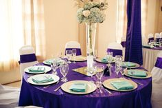 Color inspiration: purple and mint from Mikael Quarter Photography