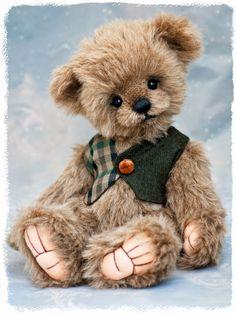 Bear by Three o clock bears My Teddy Bear, Cute Teddy Bears, Tatty Teddy, Photo Ours, Art D'ours, Country Bears, Teddy Bear Clothes, Teddy Bear Pictures, Bear Doll