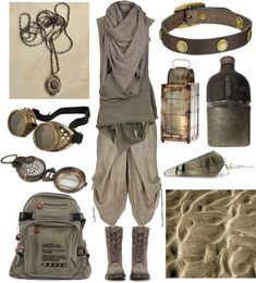 hexeknochen: Desert Nomad by maggiehemlock featuring nautical theme home decor A - Goggle - Ideas of Goggle #Goggle - hexeknochen: Desert Nomad by maggiehemlock featuring nautical theme home decor AllSaints brown tank / Lumen et Umbra grey shorts / Dr. Martens taupe shoes $99 / Ipad backpack / Charm pendant / Frye cuff charm bracelet / Womens jewellery / AllSaints infin