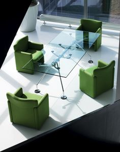 Contract Furniture - Nomos conference table from Tecno.