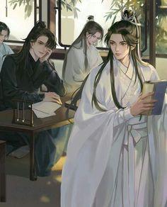 Manhwa Manga, Manga Anime, Anime Art, Anime Couples Drawings, Anime Couples Manga, Handsome Anime Guys, China Art, Fanarts Anime, Cute Chibi