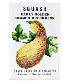 Seed source: Baker Creek, which stocks seeds for more than 1,400 heirloom plants.