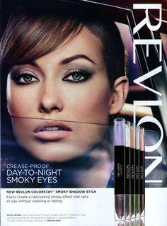 2012 Revlon Ad Page  ~  OLIVIA WILDE   /F
