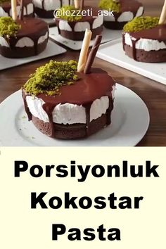 Porsiyonluk Kokostar Pasta Tarifi – Tatlı tarifleri – The Most Practical and Easy Recipes Köstliche Desserts, Delicious Desserts, Yummy Food, Healthy Food, Cake Recipes, Dessert Recipes, Pecan Pie Bars, Pumpkin Spice Cupcakes, Cream Recipes