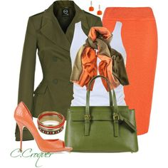 """""""Green Bag"""" by ccroquer on Polyvore"""