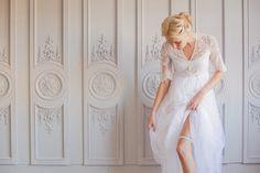 Hera Wedding Garter- super sleek under your dress!   The Wedding Garter Co