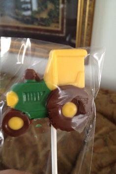 John Deere baby shower chocolates!!