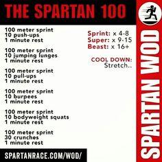 Spartan Training: Spartan WOD