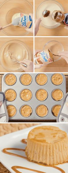 All your friends and family will be able to say is WOW when they try these Coffee Flan Cupcakes at your next family fiesta. Little do they know how easy this dessert recipe was to make thanks to La Lechera Dulce de Leche and Sweetened Condensed Milk.