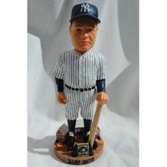 Babe Ruth New York Yankees 10 in Cooperstown Collection bobblehead