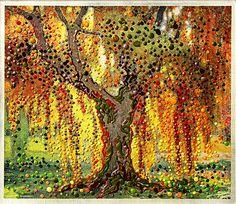 Angel's Light - Original Painting. $2,400.00, via Etsy.