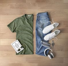Outfit Ideas For Men: Stylish Mens Clothes That Any Guy Would Love Komplette Outfits, Casual Outfits, Fashion Outfits, Simple Outfits, Stylish Men, Men Casual, Casual Wear, Style Masculin, Men With Street Style