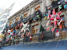 Centro Histórico de la Ciudad de México. Navidad 2012