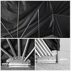 Outdoor Cover Motorcycle Bike Tent Folding Garage Motorbike Storage Camping for Outdoor Sport – Large | Sporting Goods