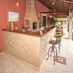 Residência Itaipu: Terraços Rústico por  Spelzon Lima Arquitetura e Interiores